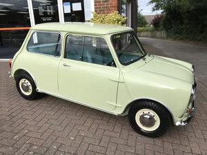 1963 AUSTIN MINI Mk1 SUPER-DE-LUXE (Nut & bolt restoration) For Sale