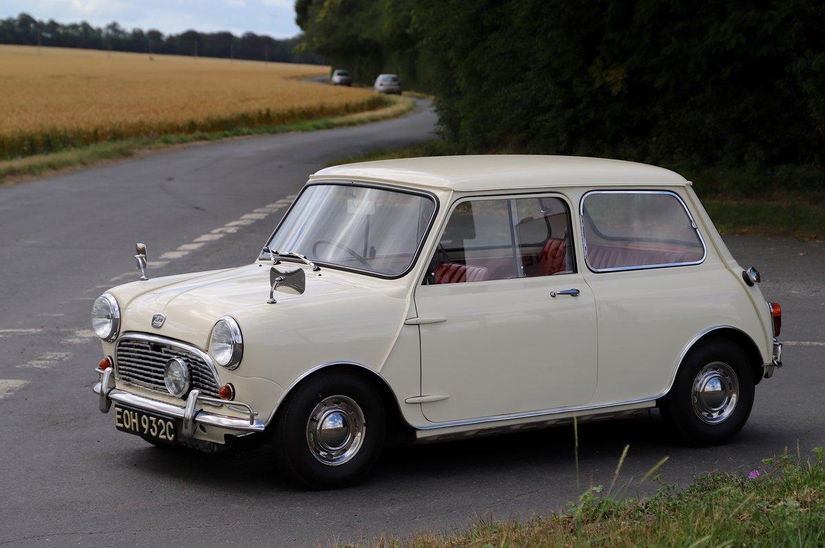 Austin Mini Mk1 Automatic Super De-Luxe, 1965. For Sale (picture 3 of 5)