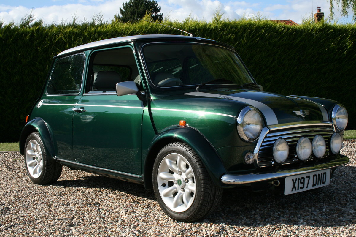 2000 Classic Mini Cooper Sport 500. Exceptional Throughout For Sale (picture 1 of 6)