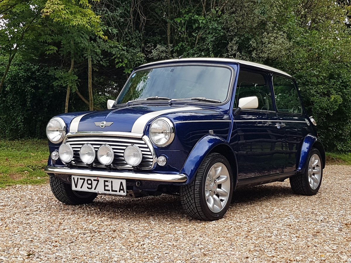 1999 Outstanding Mini Cooper Sport On 5570 Miles From New SOLD (picture 1 of 10)
