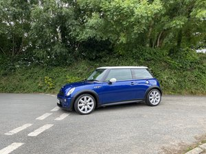2003 53 MINI COOPER S SUPERCHARGED INDI BLUE GREAT SPEC