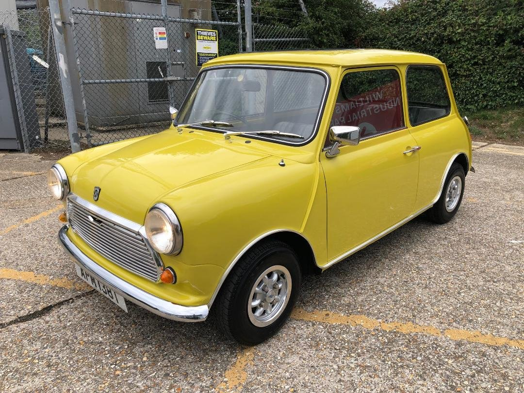 1979 Austin Mini 1275cc. Snapdragon. FSH. Stunning For Sale (picture 4 of 6)
