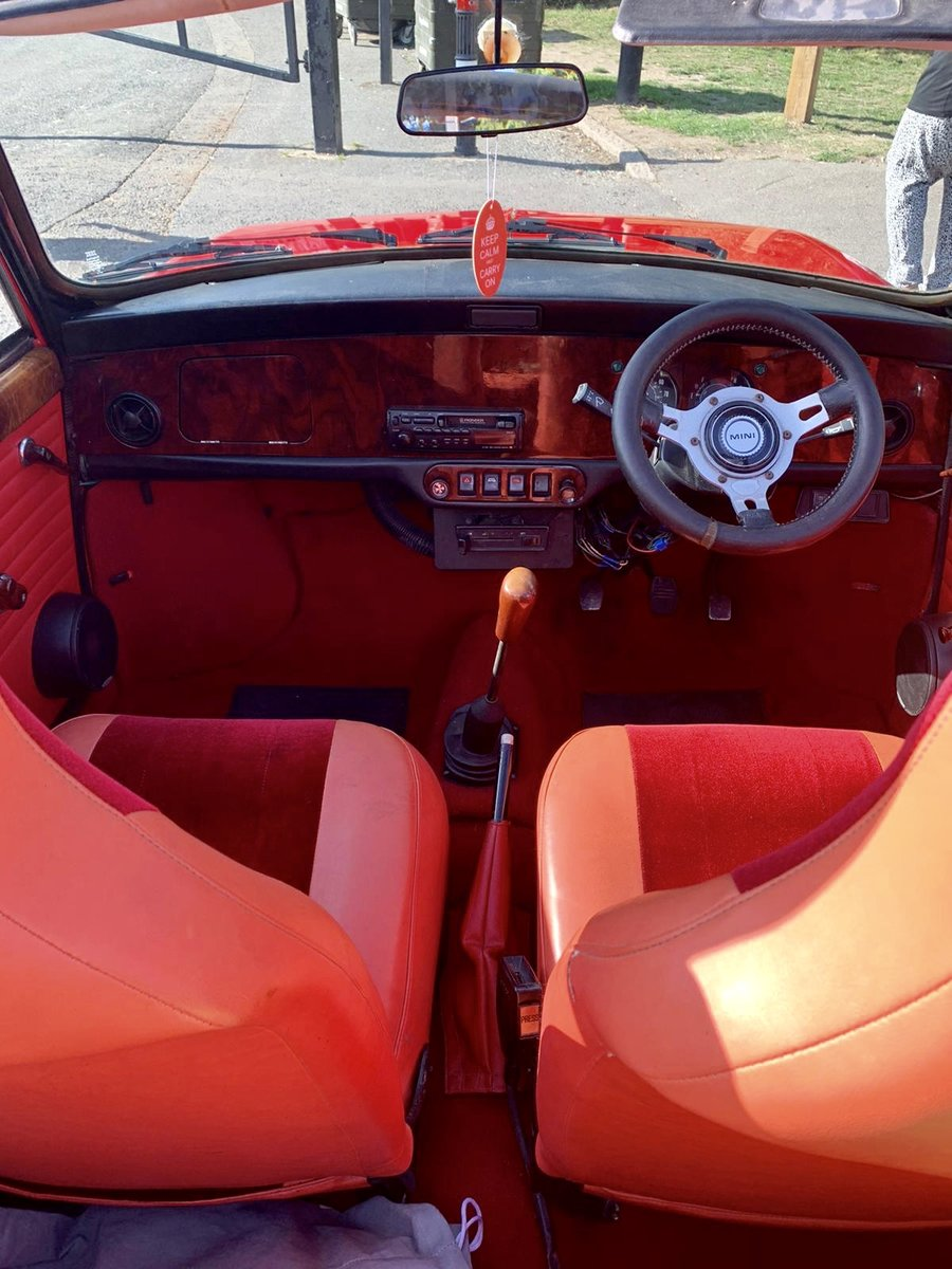 1980 Austin Mini Clubman w&p convertible  For Sale (picture 4 of 4)