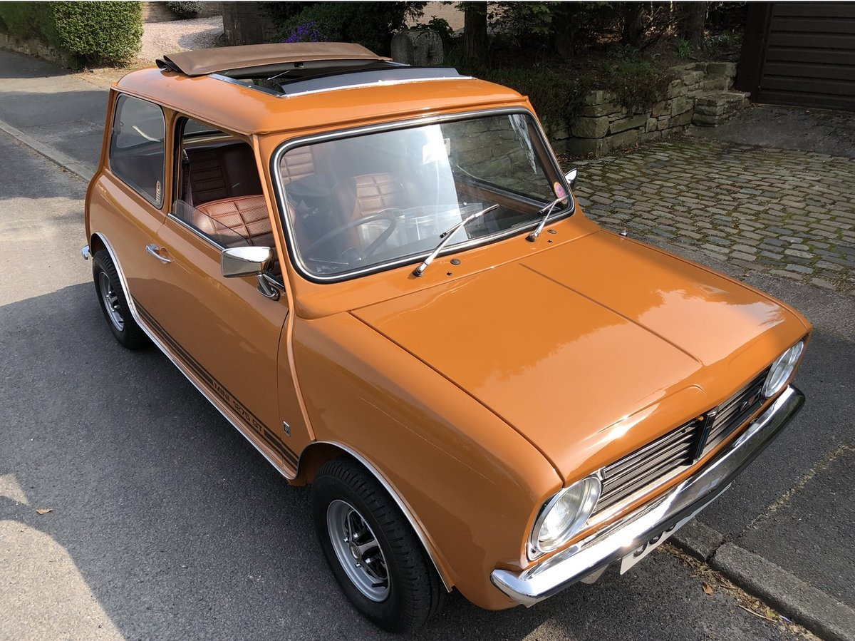 1974 Mini 1275GT 14k miles from new! SOLD (picture 1 of 6)