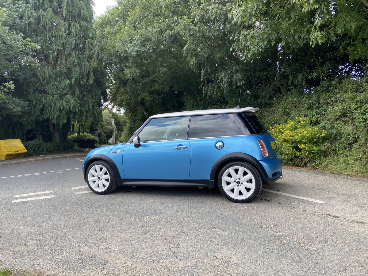 2005 55 MINI COOPER S ELECTRIC BLUE GREAT SPEC CAR STUNNING  For Sale (picture 3 of 6)