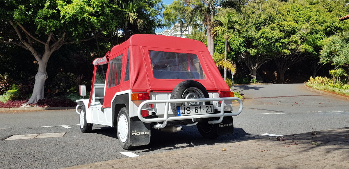 1987 Mini Moke  -    Sold For Sale (picture 1 of 6)