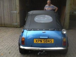 1978 Classic Mini Convertible 1275