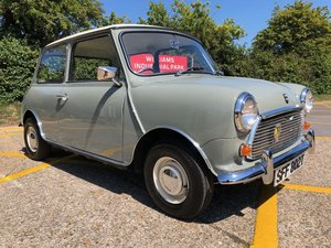 1979 Austin Mini 1000cc. Yukon Grey. 33k. FSH. Restored