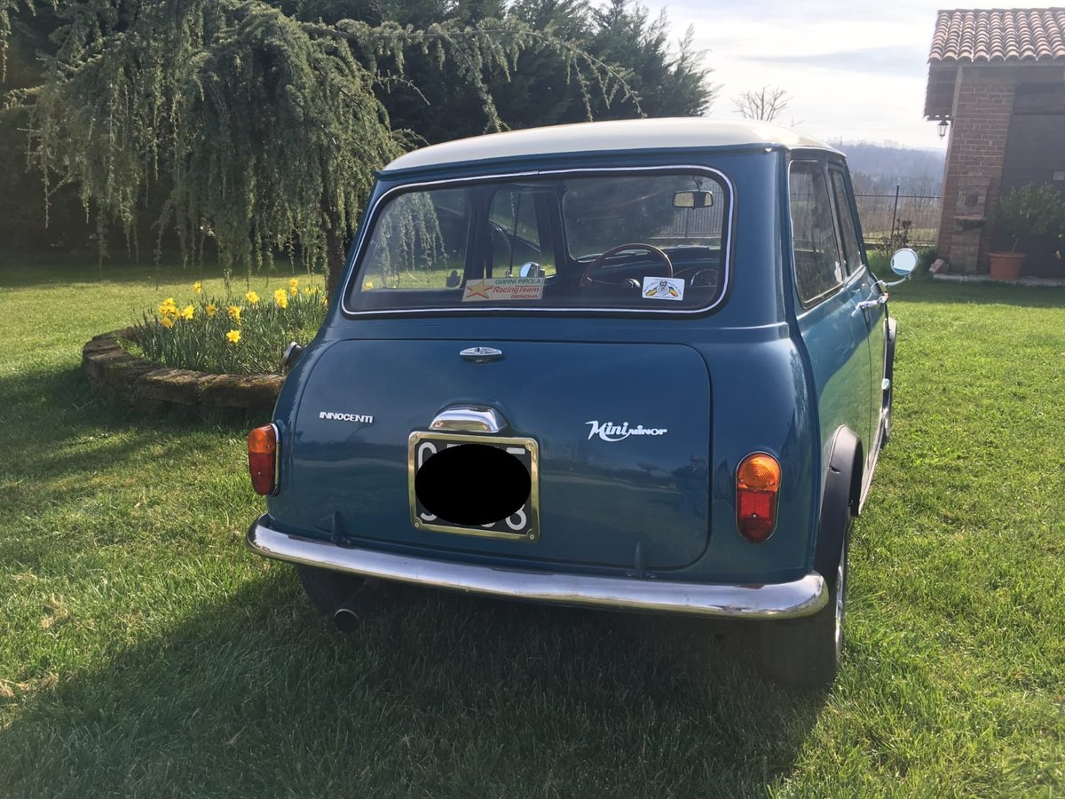 1968 Mini Innocenti 850, Ladys car, 1 owner, first series Austin For Sale (picture 6 of 6)