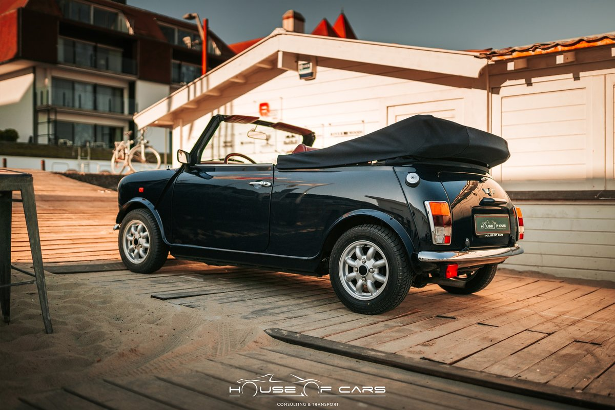 "1992 Rover Mini Cooper 1.3 SPI ""LAMM One-Off Cabriolet"" For Sale (picture 3 of 6)"