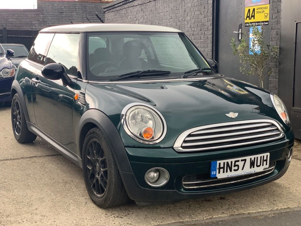 2007 MINI Hatch 1.4 One 3dr For Sale (picture 1 of 3)