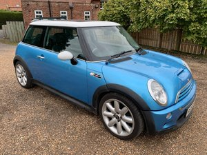 2003 **OCTOBER ENTRY**  Mini Cooper S