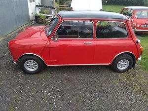 **OCTOBER ENTRY** 1969 Mini Cooper Mk2 For Sale by Auction