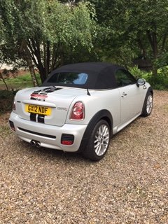 2012 Mini Cooper S Roadster Full JCW pack. For Sale (picture 2 of 6)