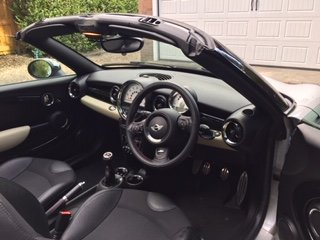 2012 Mini Cooper S Roadster Full JCW pack. For Sale (picture 4 of 6)