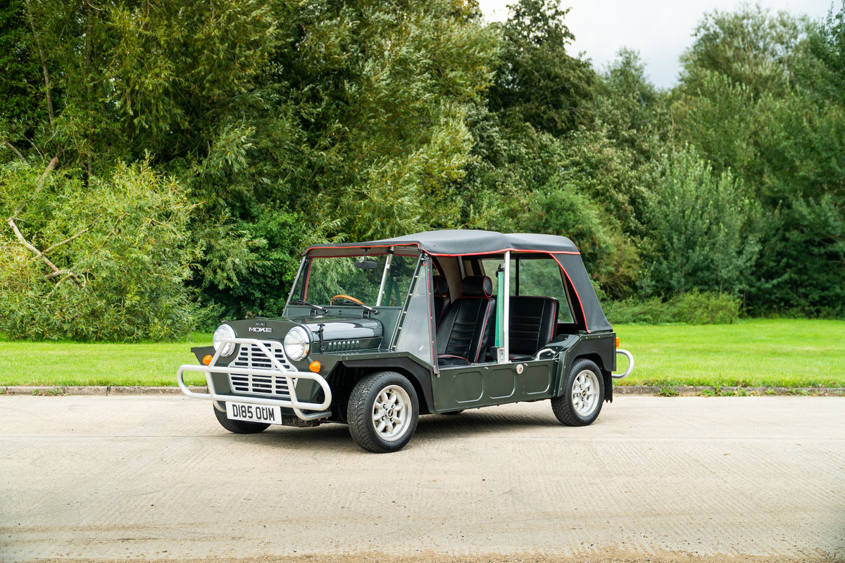 1986 A Nice Example Of A Mini Moke For Sale (picture 1 of 6)