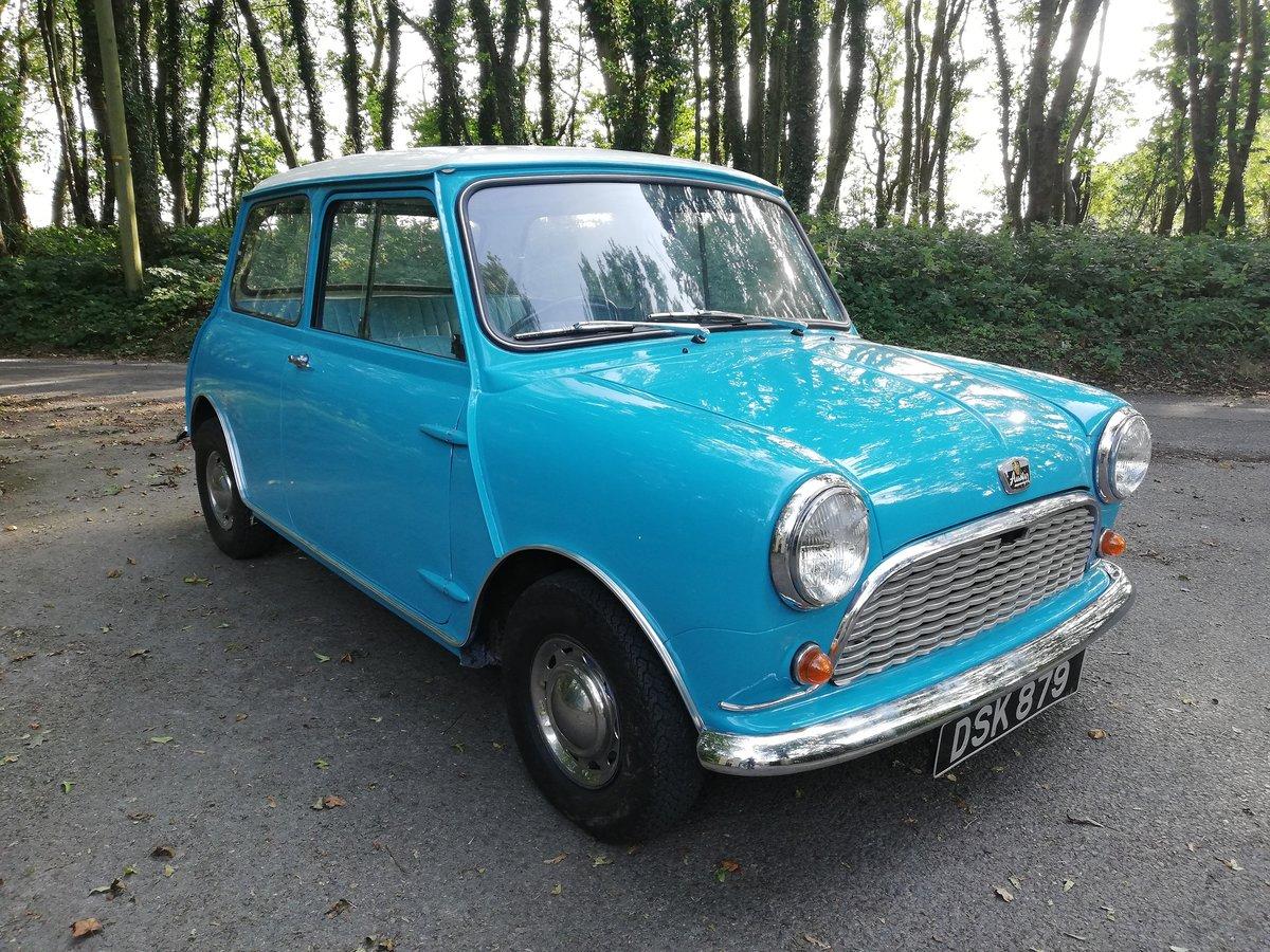 1961 Austin Seven Mini Mk1 850 SOLD (picture 1 of 6)