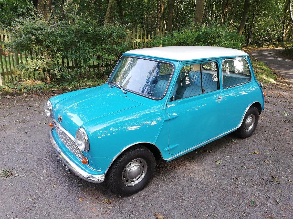 1961 Austin Seven Mini Mk1 850 SOLD (picture 2 of 6)