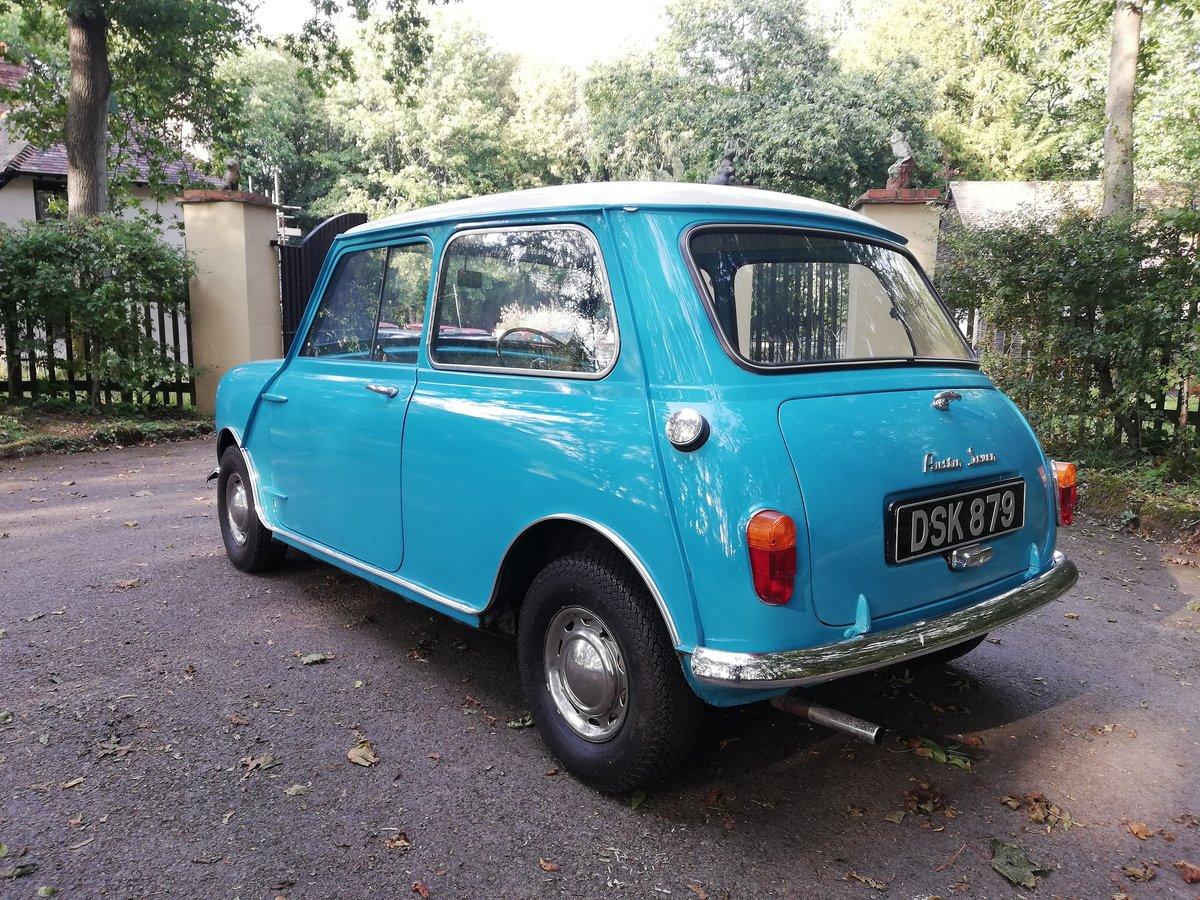 1961 Austin Seven Mini Mk1 850 SOLD (picture 3 of 6)