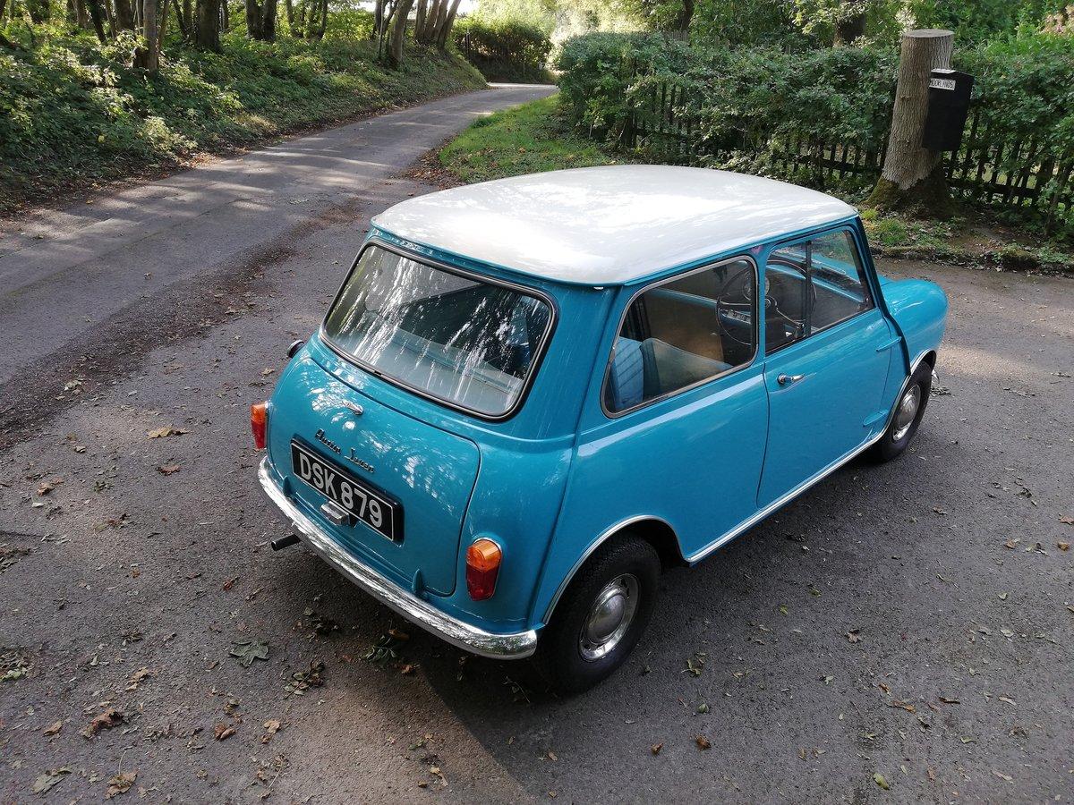 1961 Austin Seven Mini Mk1 850 SOLD (picture 4 of 6)