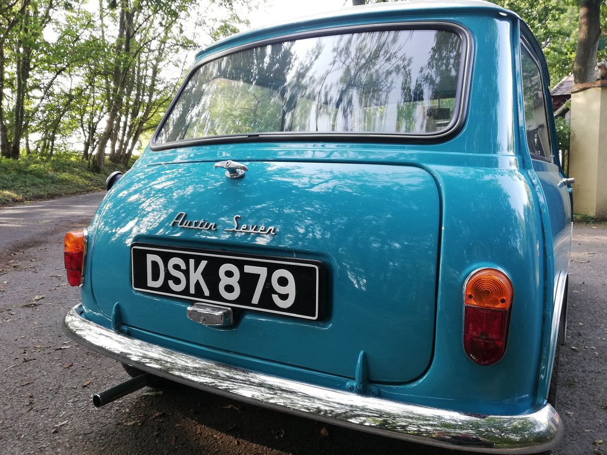 1961 Austin Seven Mini Mk1 850 SOLD (picture 5 of 6)