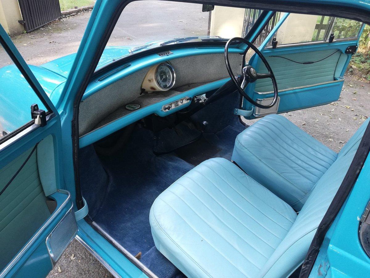 1961 Austin Seven Mini Mk1 850 SOLD (picture 6 of 6)