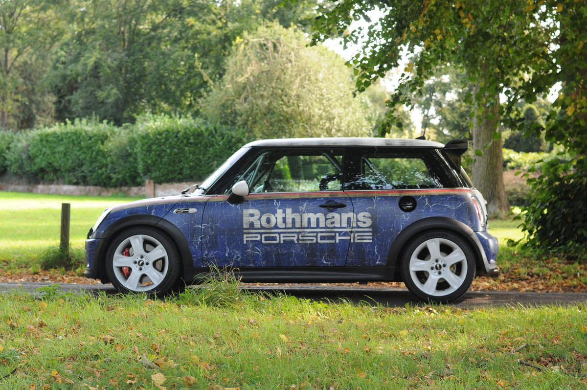 2005 NOW SOLD Mini Cooper S race car/track day car SOLD (picture 1 of 6)