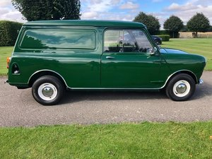 Beautifully restored Mini Van
