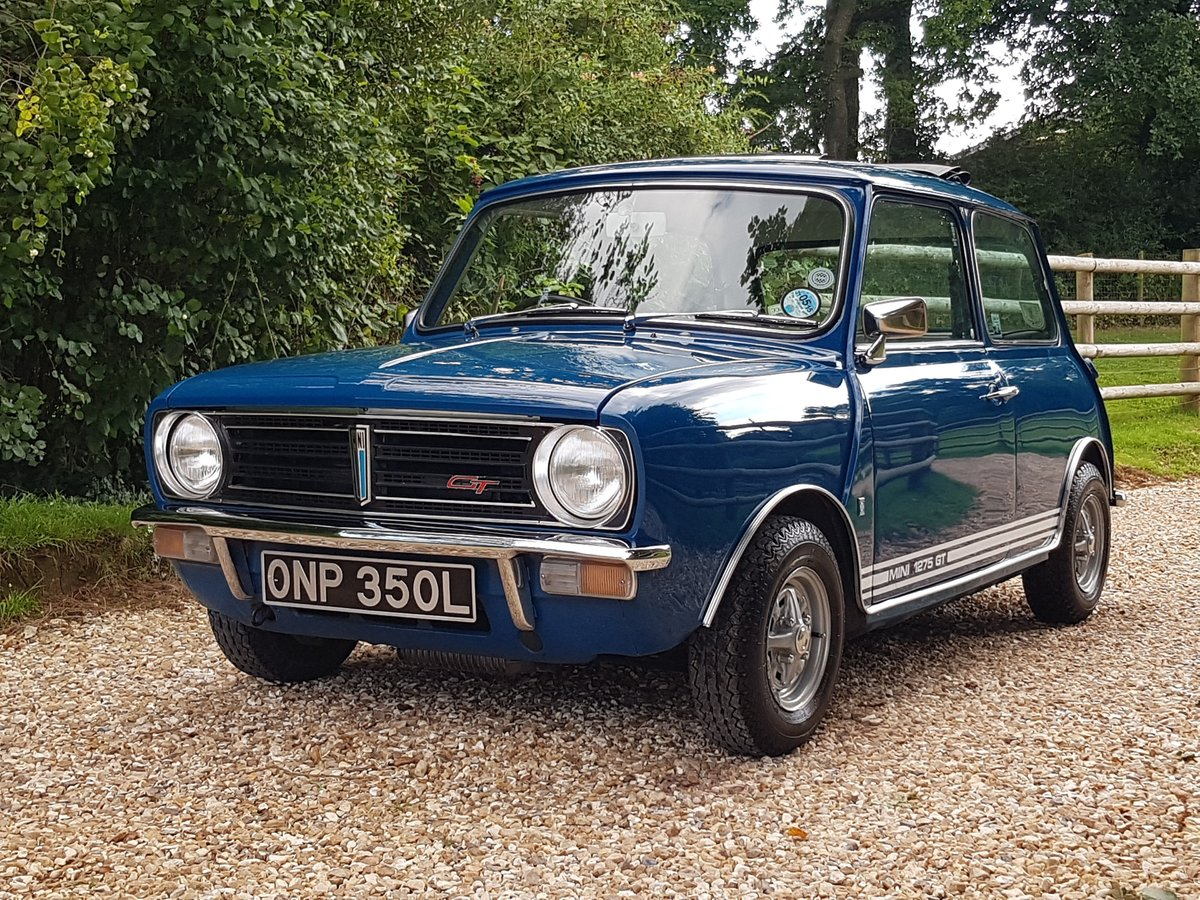 1972 Lovely Austin Mini 1275 GT SOLD (picture 1 of 10)