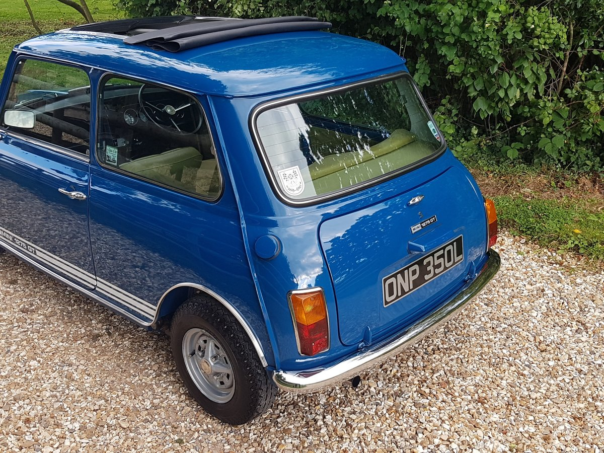 1972 Lovely Austin Mini 1275 GT SOLD (picture 7 of 10)