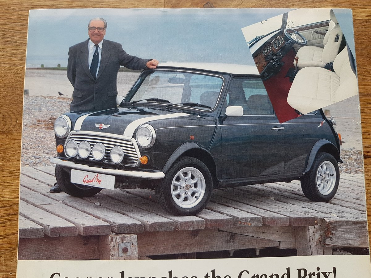 1994 Mini Cooper Grand Prix no. 1 of 35 *Owned By John Cooper* SOLD (picture 9 of 10)