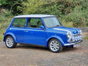 Mini 1275cc Sportspack, 1998, Blue