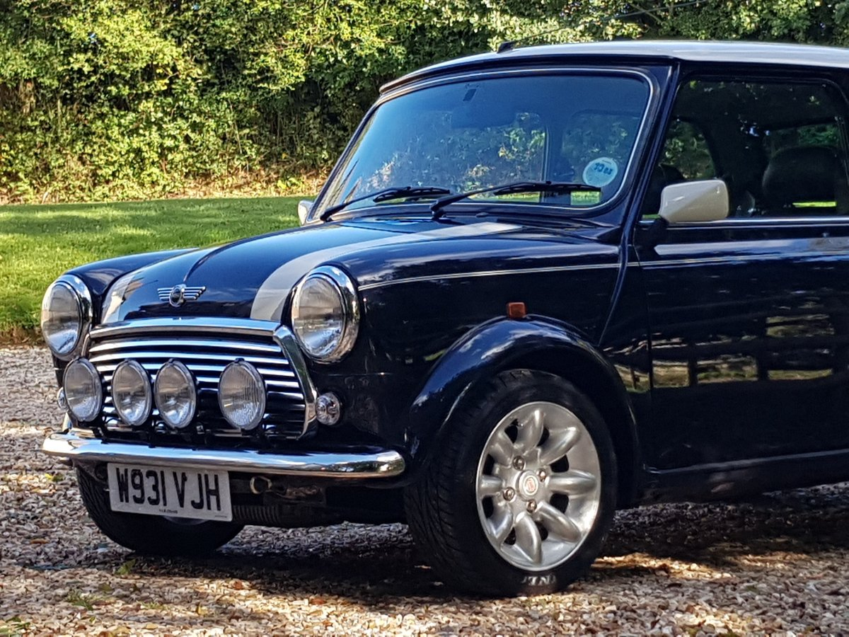 2000 Immaculate Mini Cooper Sport On Just 6350 Miles From New! SOLD (picture 5 of 10)