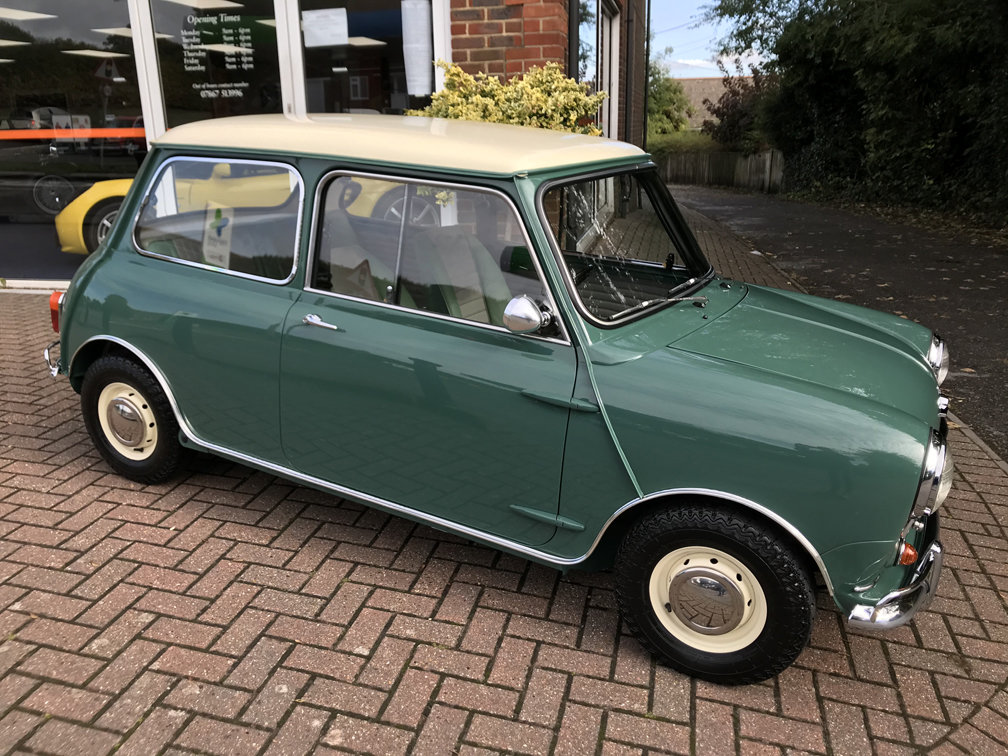 1964 MORRIS COOPER 970 S (2 owners, Just 26,900 miles from new) For Sale (picture 1 of 1)