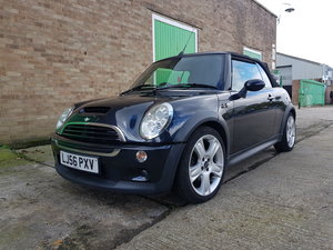MINI COOPER S CONVERTABLE SUPERCHARGED BLACK