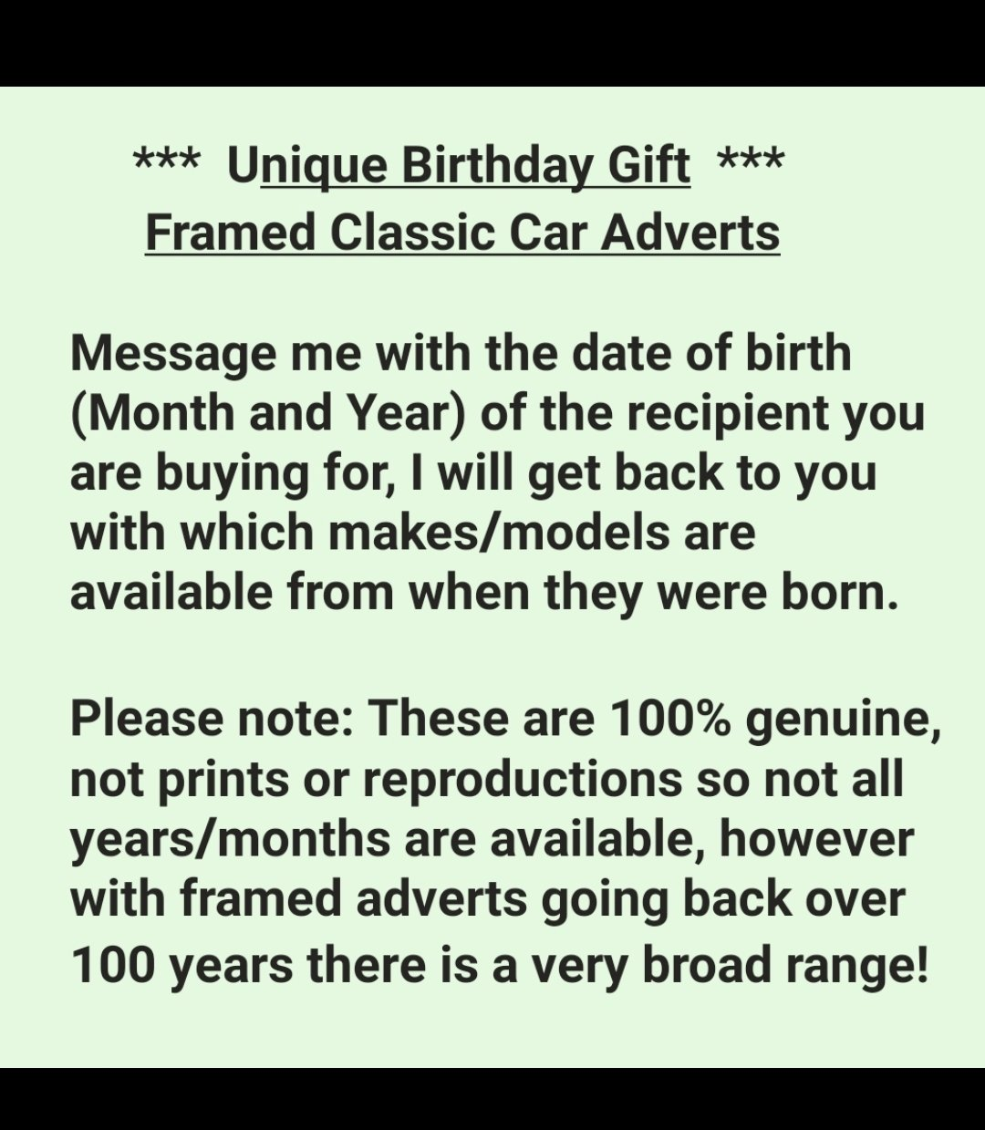 Original 1973 Mini Clubman Framed Advert  For Sale (picture 3 of 3)