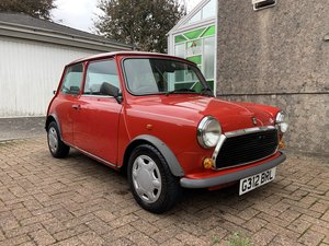 Classic Mini - very low mileage of 23,715