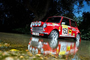 Picture of 1996 Works Rover Italia Montecarlo MiniCooper Rally car