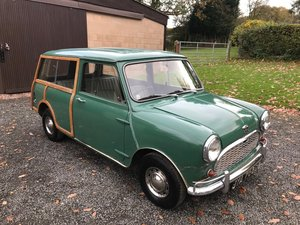 Picture of 1966 AUSTIN MINI COUNTRYMAN GREEN * UNRESTORED GARAGE FIND * SOLD