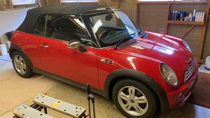 Mini convertible 1.6 S reduced to clear