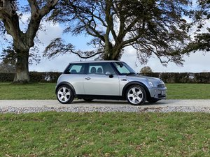 2005 05 MINI COOPER 1.6 CHILLI PACK SILVER ONLY 62000 MILES