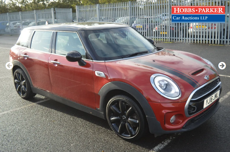 2016 Mini Clubman Cooper SD 37,645 Miles for auction 25th For Sale by Auction (picture 1 of 6)