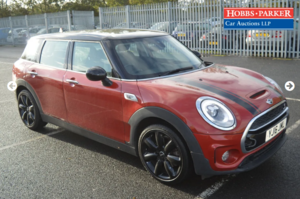 2016 Mini Clubman Cooper SD 37,645 Miles for auction 25th