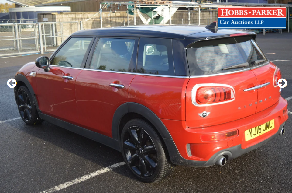 2016 Mini Clubman Cooper SD 37,645 Miles for auction 25th For Sale by Auction (picture 3 of 6)