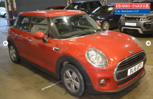 2016 Mini One D 54,500 Miles for auction 25th
