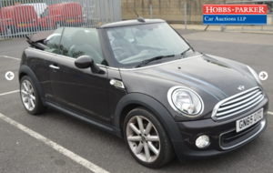 2015 Mini One Highgate 16,968 Miles for auction 25th