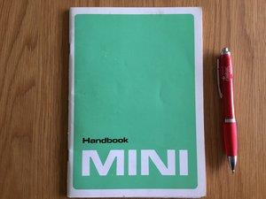 Picture of 1988 Mini handbook SOLD