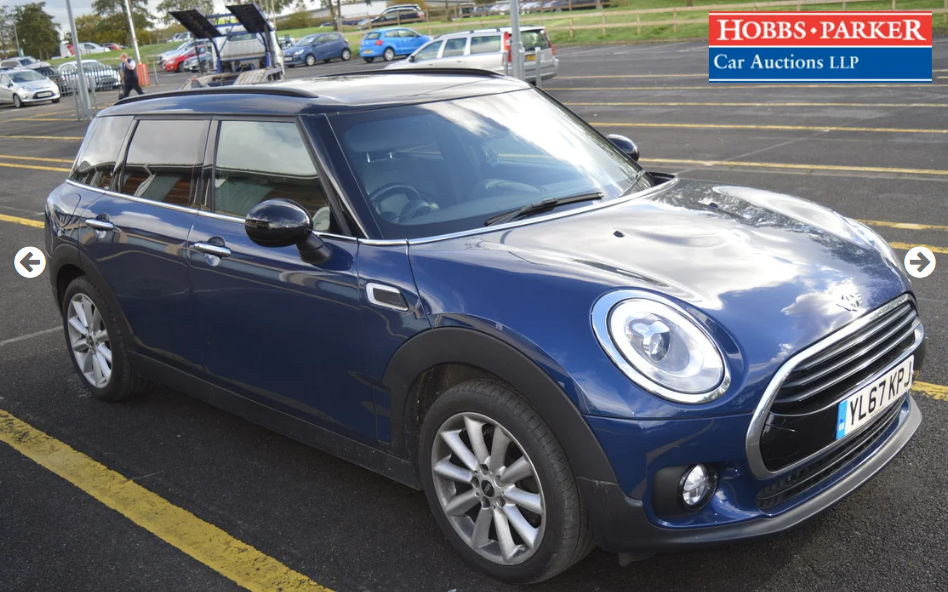 2018 Mini Clubman - 11,726 Miles - At auction 25th For Sale by Auction (picture 1 of 6)