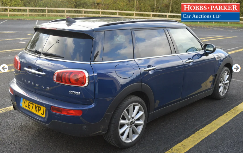 2018 Mini Clubman - 11,726 Miles - At auction 25th For Sale by Auction (picture 2 of 6)