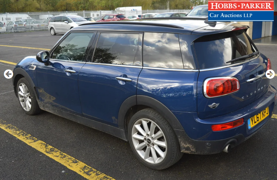 2018 Mini Clubman - 11,726 Miles - At auction 25th For Sale by Auction (picture 3 of 6)